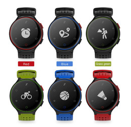 Wholesale Pressure Inches - X2 Smart Watch IP68 Waterproof 4.0 Bluetooth 0.96 Inch Blood Pressure Tracker Heart Rate Sleep Monitor For Android IOS