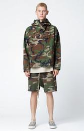 Wholesale Woman Harem Short - Best Version 2017 summer men women Justin bieber fear of god camouflage Five minutes of pants kanye west fashion hiphop shorts