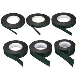 Wholesale Waterproof Double Sided Tape - Wholesale- 2016 10M Strong Waterproof Adhesive Double Sided Foam Black Tape For Car Trim home