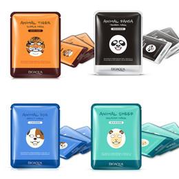 Wholesale Hot Oil Treatments - BIOAQUA Tiger Panda Sheep Dog Shape Animal Face Mask Moisturizing Oil Control Hydrating Nourishing Facial Masks New Hot Sales 0611037