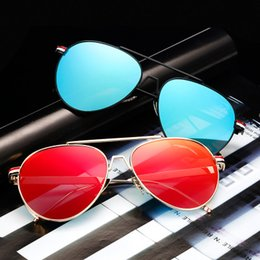 Wholesale Sexy Lens - Unisex Retro Aluminum Brand Sunglasses Polarized Lens Vintage Eyewear Accessories Sexy Sun Glasses Oculos For Men Women