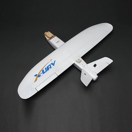 Wholesale Model Airplane Controls - Wholesale- X-uav Mini Talon EPO 1300mm Wingspan V-tail FPV RC Model Radio Remote Control Airplane Aircraft Kit