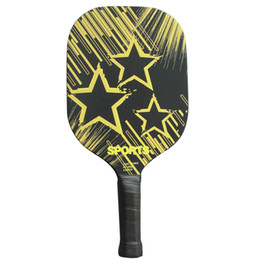 Wholesale Aluminum Paddles - Wholesale- Brand New Carbon Pickleball Paddle Graphite NOMEX  Aluminum Honeycomb Edgeless Paddle Racquet Racket Thin & Quick At Net