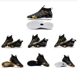 2019 superflys de fútbol 2017 nuevos zapatos de fútbol originales ACE 17+ PureControl Indoor Superflys Athletic hombres fútbol zapatos de fútbol FG / IC / TF Futsal Shoes rebajas superflys de fútbol