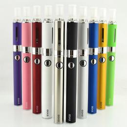 Wholesale Evod High Quality - EVOD MT3 blister Kit High quality vape electronic cigarette e cig with EVOD Ego Battery MT3 vaporizer e cigarette starter kit