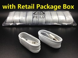 Wholesale Galaxy Note Box Packaging - 1M 3Ft Micro USB Sync Data Cable Charging Cord Charger Line With Retail Package Box for Phone Samsung Galaxy S4 S6 S7 Note 4 5 Huawei 6 7
