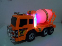 Wholesale Mixer Concrete Truck - Electric truck cement mixer concrete mixer truck universal music lights toys