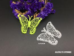 Wholesale Photo 3d Album - Flying 3D butterfly metal cutting dies stencils for DIY Scrapbook photo album embossing envelope decorative craftsl cutting dies