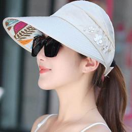 boinas da igreja Desconto Mulheres de verão legal chapéus estilo coreano mulheres ao ar livre ciclismo chapéu de sol dobrável chapéu de sol frete grátis