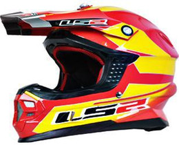 Wholesale ls2 racing - Professional Ls2 MX456 Motocross Helmet Casco Fiberglass Motorcycle Capacetes Motorbike Protective Gears Dakar Rally Racing Free Shipping