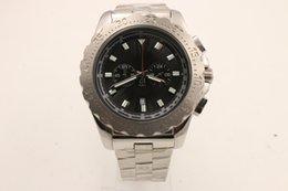 Wholesale Advance Quartz Watch - Men's luxury chronograph, classic brand watch, advanced 304 stainless steel metal build, sapphire mirror, men's gift