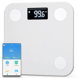 Wholesale Digital Weigh - Original YUNMAI MINI Bluetooth4.0 Smart Weighing Scale Support Android 4.3 iOS7.0 Losing Weight Digital Scale Body Fat Scale