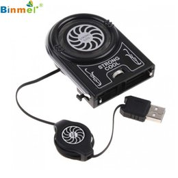 Wholesale Mini Notebook Fan Case - Wholesale- Hot-sale 73cm Mini USB Cooler Air Extracting Cooling Pad Fan For Laptop Notebook 1 pc