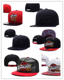 Wholesale Embroidered Baseball Caps Cheap - New Arrival Cleveland Adjustable Cavaliers Snapback Hat Thousands Hat For Men Basketball Cheap Hat Adjustable men women Baseball Cap