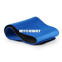 Wholesale Slim Belt For Weight Loss - Slimming Belt Health Care Massage Belt Body Massager Massage Sauna Belt For Weight Loss Body Shaper Blue
