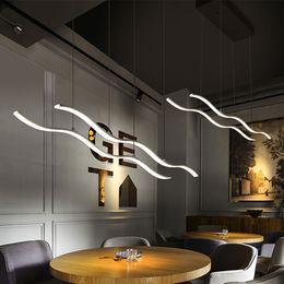 Wholesale Cloth Pendant Light Cord - Lamlux new design LED pendant lamps nordic postmodern patented droplight coffee ring pendant light for bar club coffee shop cloth store