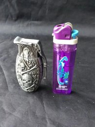 Wholesale Grenade Lighters - Grenade lighter bongs accessories , Unique Oil Burner Glass Bongs Pipes Water Pipes Glass Pipe Oil Rigs Smoking with Dropper
