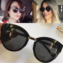 Wholesale Women S Glasses Top Quality - Luxury Brand 830 S Cat Eye Sunglasses Women Fashion Style Mixed Color Frame Hot Brand Designer Top Quality 830 Glasses Outdoor sunglasses