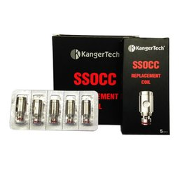 Wholesale Big Coil - Big and small Size Kanger SSOCC Coils Head Vertical OCC Coil for Kangertech toptank Mini Replacement clapton 0.5ohm 1.2ohm 1.5ohm