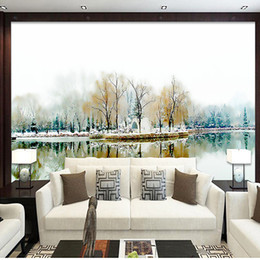 Wholesale Abstract Background Wallpaper - custom photo wall mural Abstract art for wall TV background livingroom bedroom 3d wallpapers for wall