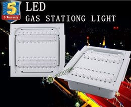 Wholesale White Led Manufacturers - High Quality 5 Warranty 80W 100W 120W 180W LED High Bay Light Gas station light Manufacturer canopy lights IP65 waterprool