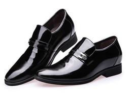 Обувь для мужчин онлайн-2016 НОВОЕ прибытие крокодиловое зерно cusp кожаные ботинки Мужские туфли, мужская обувь для бизнеса, мужские бренды высокого качества Свадебные бутики Z5