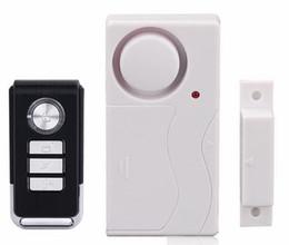 Wholesale Motorcycle Fire - Home Security Wireless Remote Control Vibration Motorcycle Bike Door Window Detector Burglar Alarm