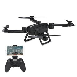 Wholesale Scale Height - X8TW Wifi FPV 0.41MP Camera Foldable Selfie Drone 6-Axis Gyro Barometer Height Hold RC Quadcopter Quad G-Sensor RTF helicopter
