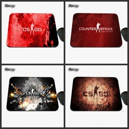 Wholesale Designed Notebooks - 2017 New Design CSGO Bestselling Series Design Game Mouse Pad, Rubber Rectangular Notebook Mat, Suitable for Gifts
