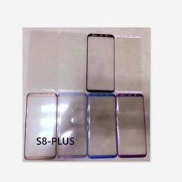 2019 samsung s6 curve Película de cristal moderada de la pantalla completa del protector de la pantalla de la curva entera de la pantalla 3D para el borde del Samsung Galaxy S6 Edge más S7 rebajas samsung s6 curve