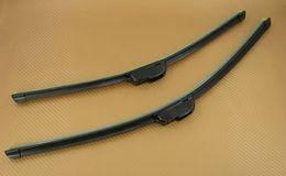 "Wholesale Wiper 19 - NEW 2 PCS Windshield Frameless Wiper Soft Blades Suitable for ""U""wiper arm 17+18 17+19 17+20 17+21 17+22 18+18 18+19 18+20 18+21 18+22"