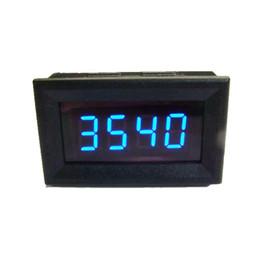 Wholesale Car Gauge Digital Blue - Digital Blue LED Tachometer Tacho Gauge Meter for Car Motorcycle