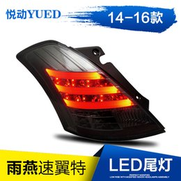 Wholesale Steering Suzuki - FOR Xiushan 14 SUZUKI swift automobile steering lamp LED photoconductive taillight assembly car lamp