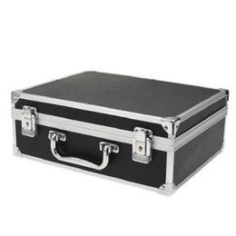 Оборудование черного ящика онлайн-Оптовая продажа-Sodial большой комплект татуировки чехол с замком черный toolbox специальная работа вне коробки татуировки оборудование