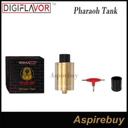 Wholesale Post Springs - Digiflavor Pharaoh Dripper Tank by RiP Trippers Project Spring-loaded Two-post Design with Clamp-style Mechanism Digiflavor Pharaoh Tank