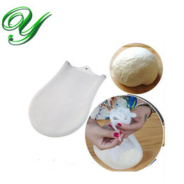 Wholesale Cutting Tool Storage - Silicone Dough Bag mixer storage press baking cutting mat 22cm cake tools fondant textured roller rolling pin pastry board flour blender