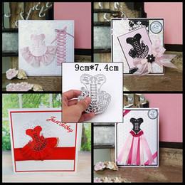 Wholesale Cutting Photos - Dance skirt Metal Cutting Dies Stencils for DIY Scrapbooking Stamp photo album Decorative Embossing DIY Paper Cards