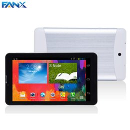 Wholesale Tablet Phones Camera Flash - Wholesale- 7 inch 3G Tablet PC Phablet GSM WCDMA 8GB Android 4.4 Dual SIM Camera Flash Light A-GPS Phone Call WIFI Tablet MTK Dual Core