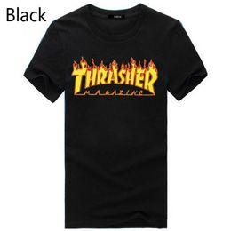 Wholesale Novelty Printing - Blusa T Shirt Men Women Skateboards Tee Short Sleeve Skate Tshirts Tops Hip Hop Tshirt Homme Man Sport Shirt