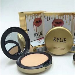 Wholesale Pressed Powder Plus Foundation - kylie jenner face power Kylie face powder profession makeup Studio Fix Powder Plus Foundation press make up face powder 6 colors