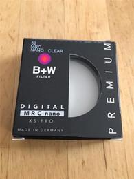 Wholesale Multi Frame Camera - B+W 52mm XS-PRO MRC Nano UV Haze Protective Filter Ultra-thin Frame Multi-Resistant Coating For Camera Lens Free Shipping