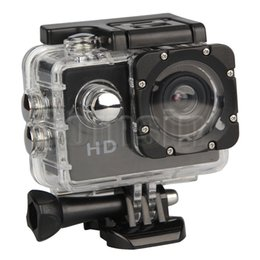 Wholesale Hd Camcorder Cheapest - Cheapest Waterproof A7 2.0inch LCD Action Camera HD 1080P Sport Camera DV Waterproof Mini Camcorder For Extreme Sports Diving Surfing