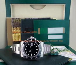 Wholesale Mens Automatic Diving Watches - Noob Factory V7 Version116610 Mens Automatic Eta 2836 Watch Men Black Ceramic Bezel Luminous Calendar Sport Dive Swiss Steel Watches