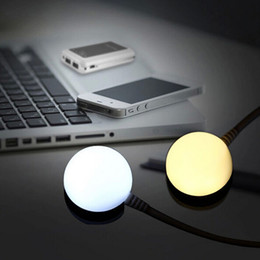 Wholesale Magnet Gadgets - Wholesale-DC5V Computer 5730 LED magnet Lamp White Warm White usb Gadget Light+1.5 m Switch cable for Notebook Mobile Power Reading Book