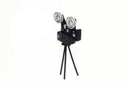 Wholesale Retro Projector - G05-X4562 children baby gift Toy 1:12 Dollhouse mini Furniture Miniature rement Mini Retro projector 1pcs