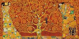 Wholesale Gustav Klimt Oil Hand Paintings - Framed Gustav Klimt The Tree of Life -Red Keilrahmen,Hand Painted Abstract Home Decor Wall Art Oil Painting On Canvas.Multi sizes GK010