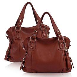 Wholesale Luxury Bag Summer - 2017 Euramerican New summer Patent Leather Tassel womens bags tote shoulder messenger designer handbags quality luxury bags genuine leather