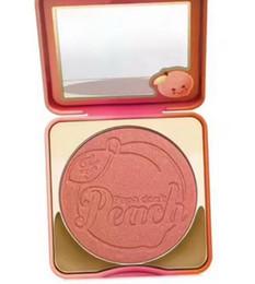 2019 composição natural do blush (em estoque) / peach blush QUENTE nova maquiagem papa não pêssego blush infuso! Frete Grátis ePacket! desconto composição natural do blush