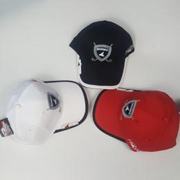 Wholesale Baseball Cap Bowls - Golf cap HONMA Baseball cap 3 colors Outdoor hat new sunscreen shade sport golf cap