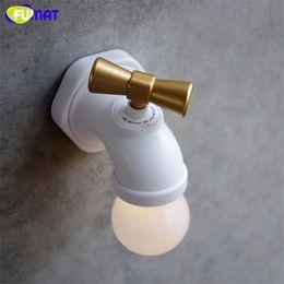 Fumat Tap Night Light Home Decor Usb Led Novelty Night Lights Faucet Shape Voice Sense Lamp